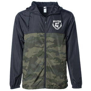 Mulletman Camo Water-Resistant Windbreaker