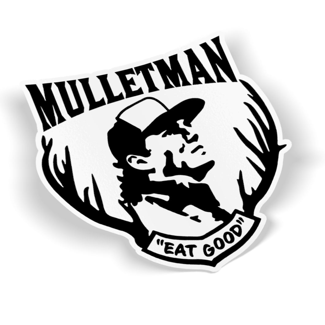 Mulletman Sticker