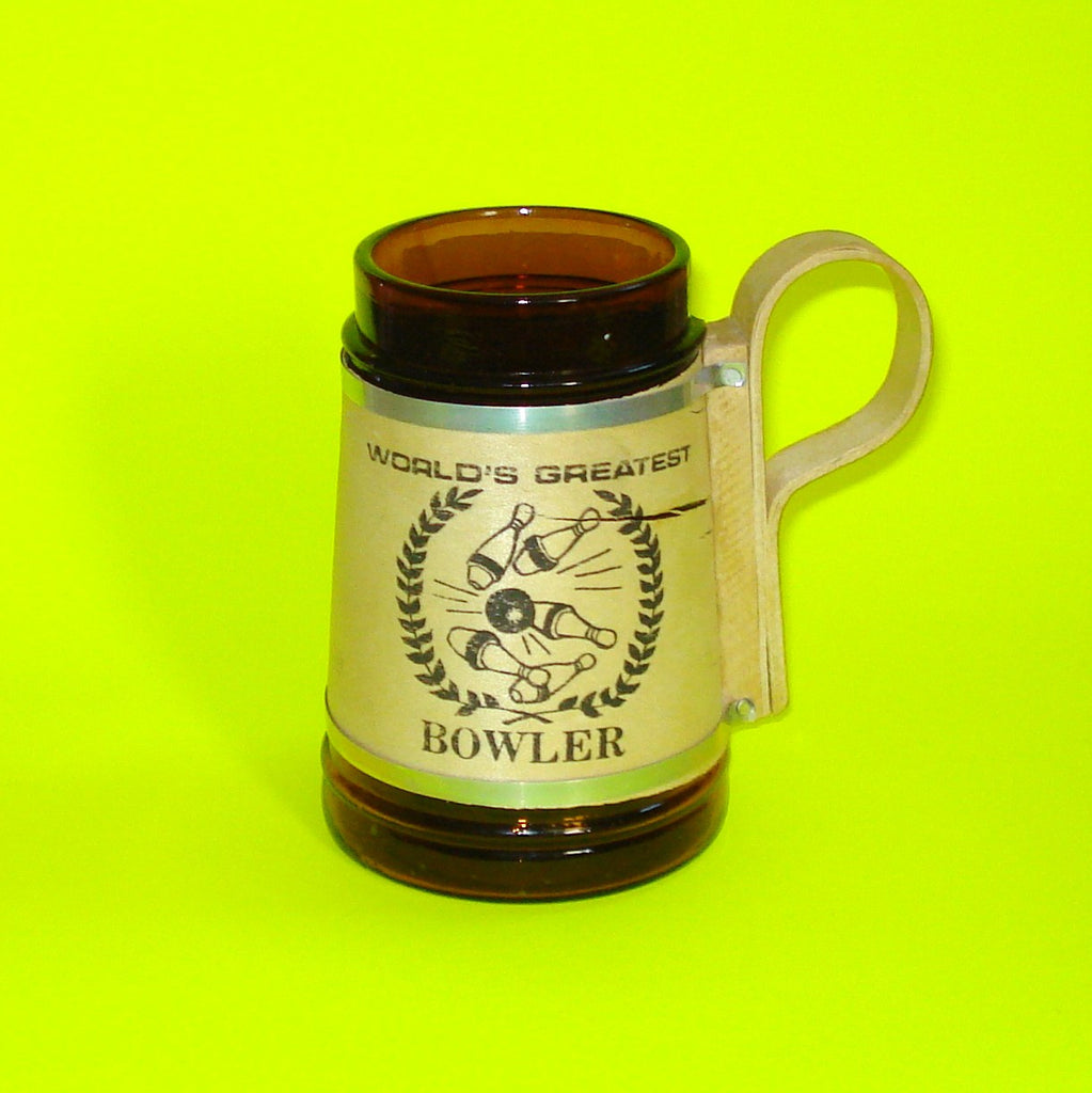 World's Best Bowler Beer Stein