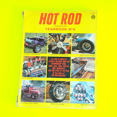 Hot Rod Magazine Yearbook No. 6 - 1966