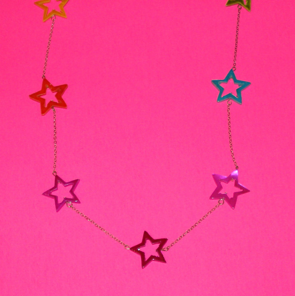 Technicolour Stars Necklace