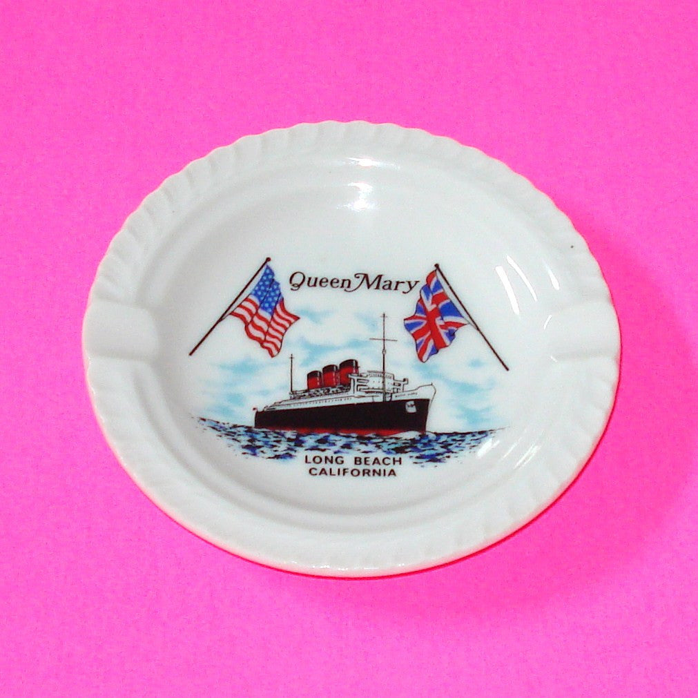 Queen Mary Ashtray Catch-All Dish