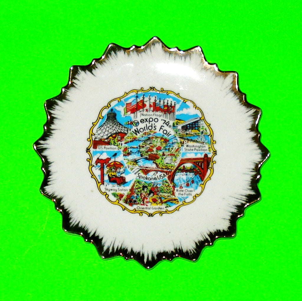 Spokane World's Fair Plate