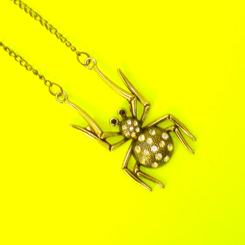 Arachnid Necklace