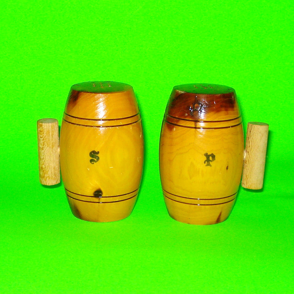 Barrel of Fun Salt & Pepper Shakers