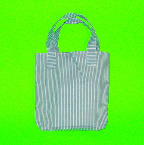 Bucket Purse - Pinstripe