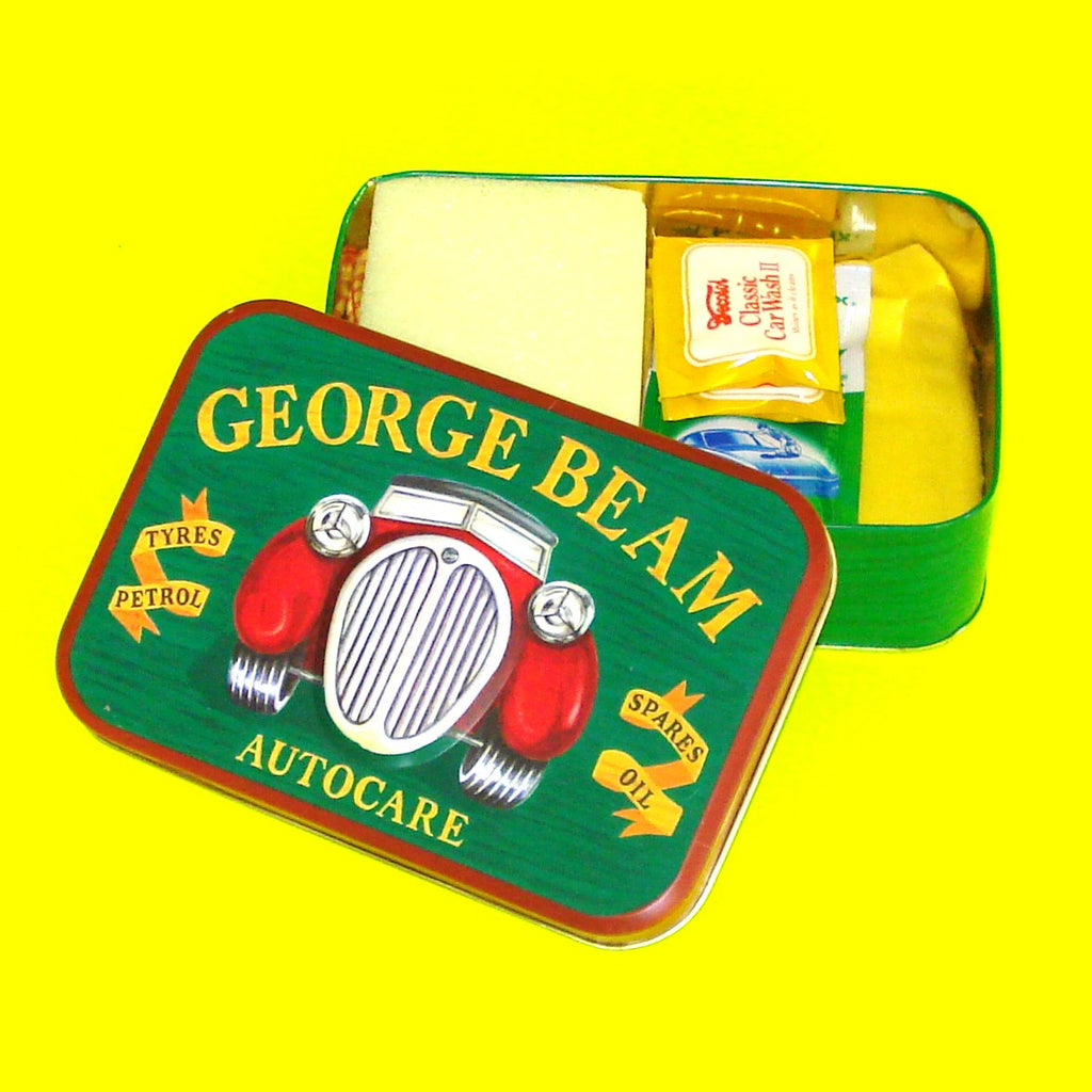 George Beam Autocare Stash Tin