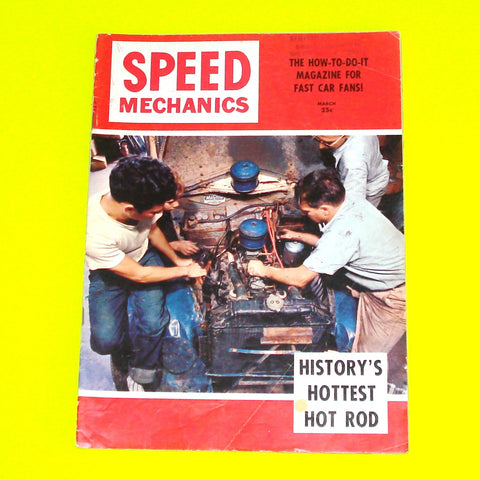 Speed Mechanics Magazine March 1953