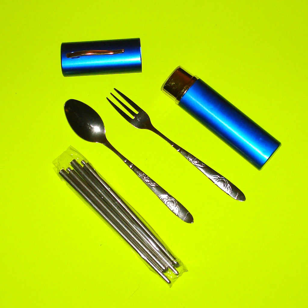 Lunch Kit Travel Cutlery - More Colours