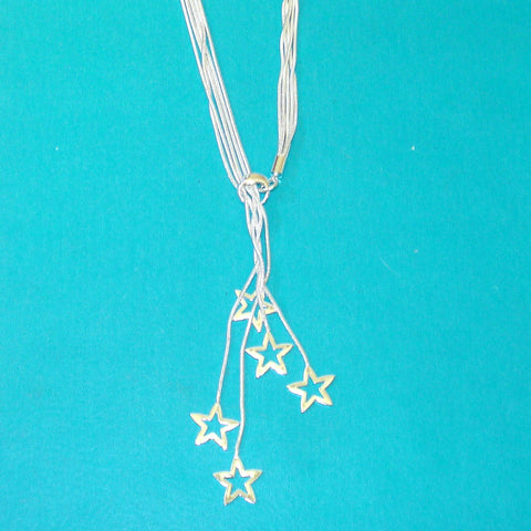 Dangling Stars Convertible Necklace