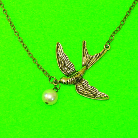 Soaring Swallow Necklace