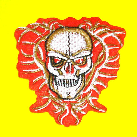 Evil Skull & Thorns Patch