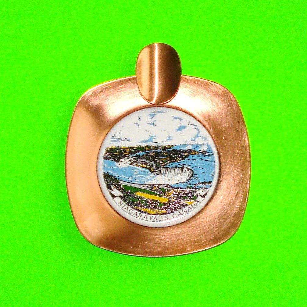 Niagara Falls Ashtray Catch-All Dish