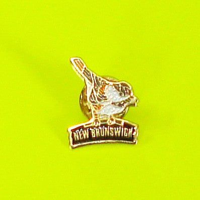 New Brunswick Chickadee Pin