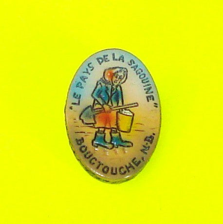 New Brunswick  Washerwoman Pin