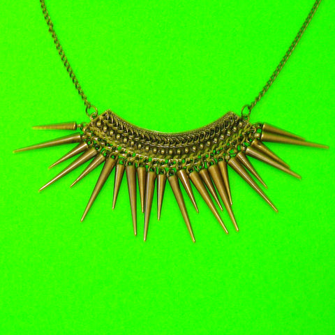 Spiked Sunburst Necklace