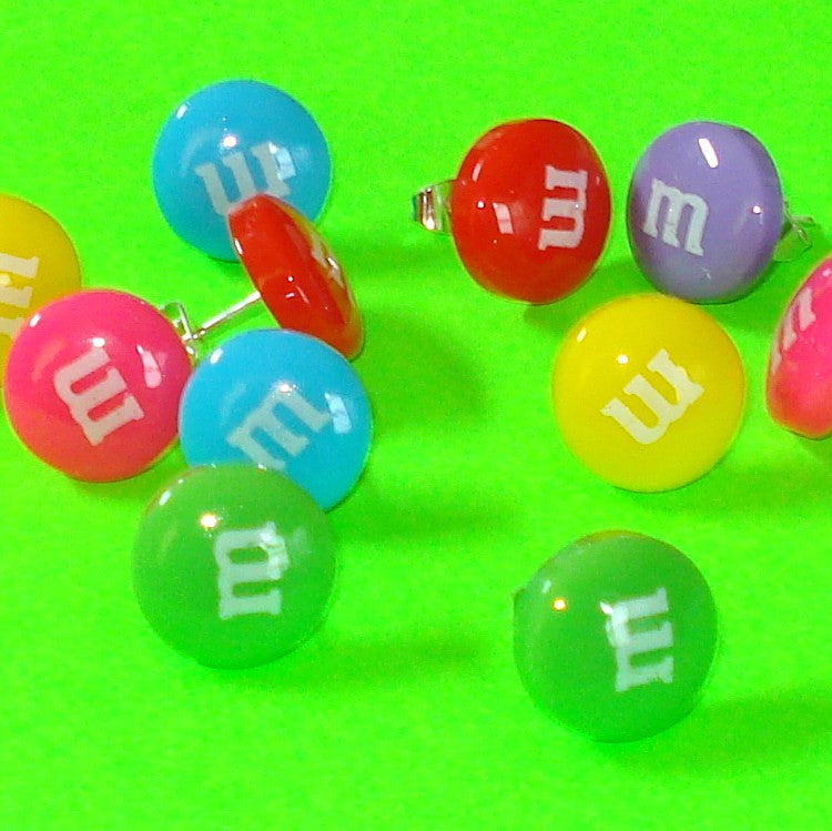 M&Ms Candy Earrings