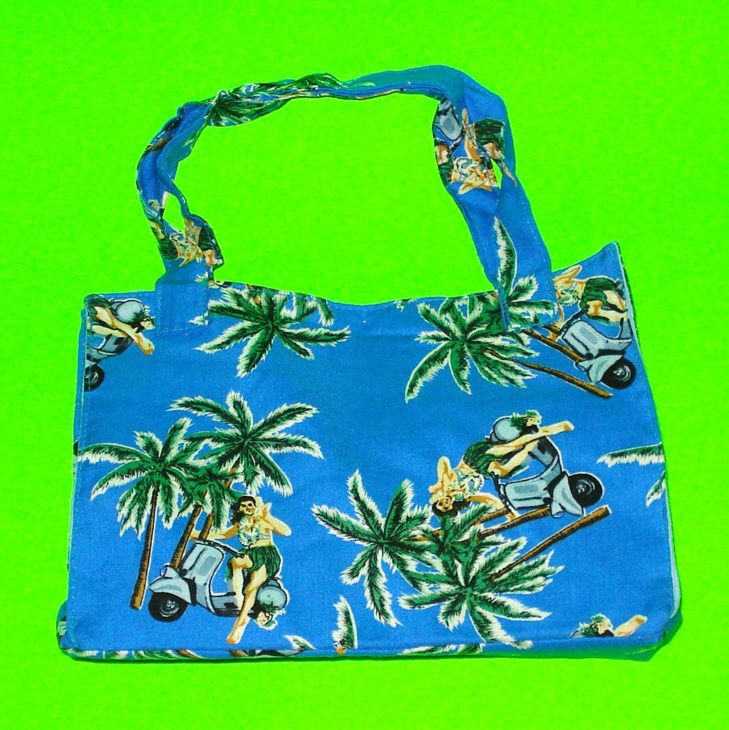 Classic Handbag - Hawaiian - More Colours!