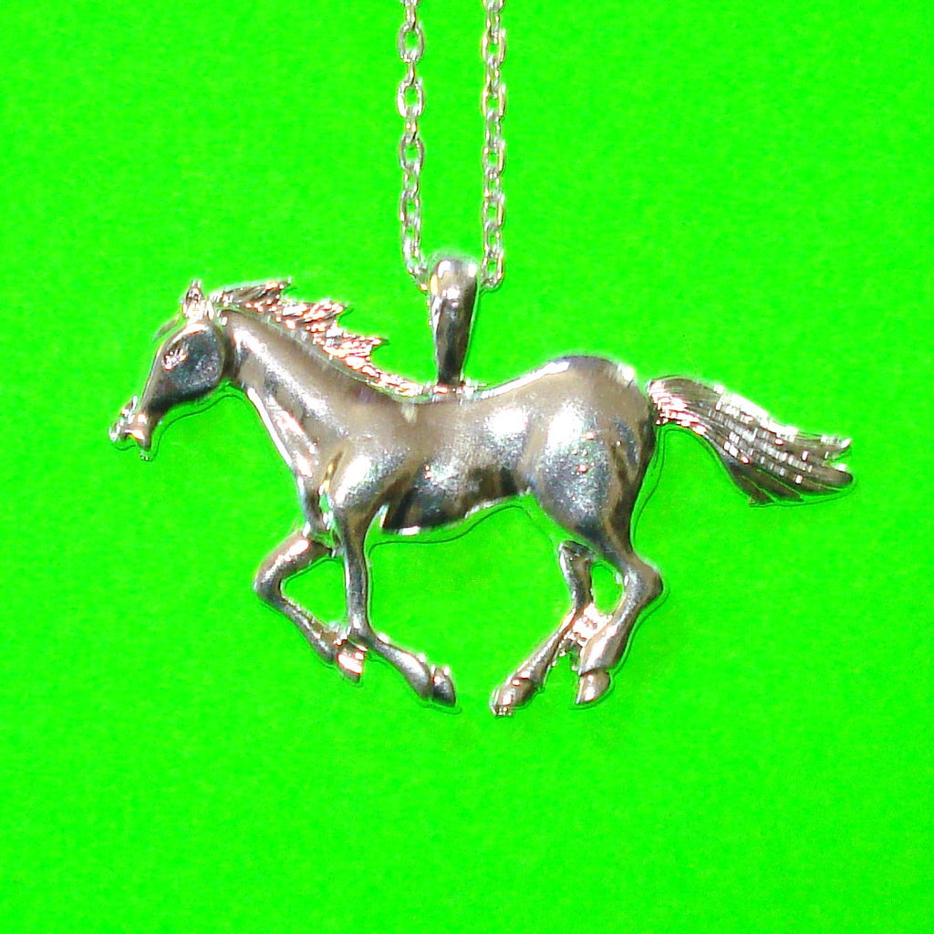 Giddy Up! Necklace - Silver or Gold