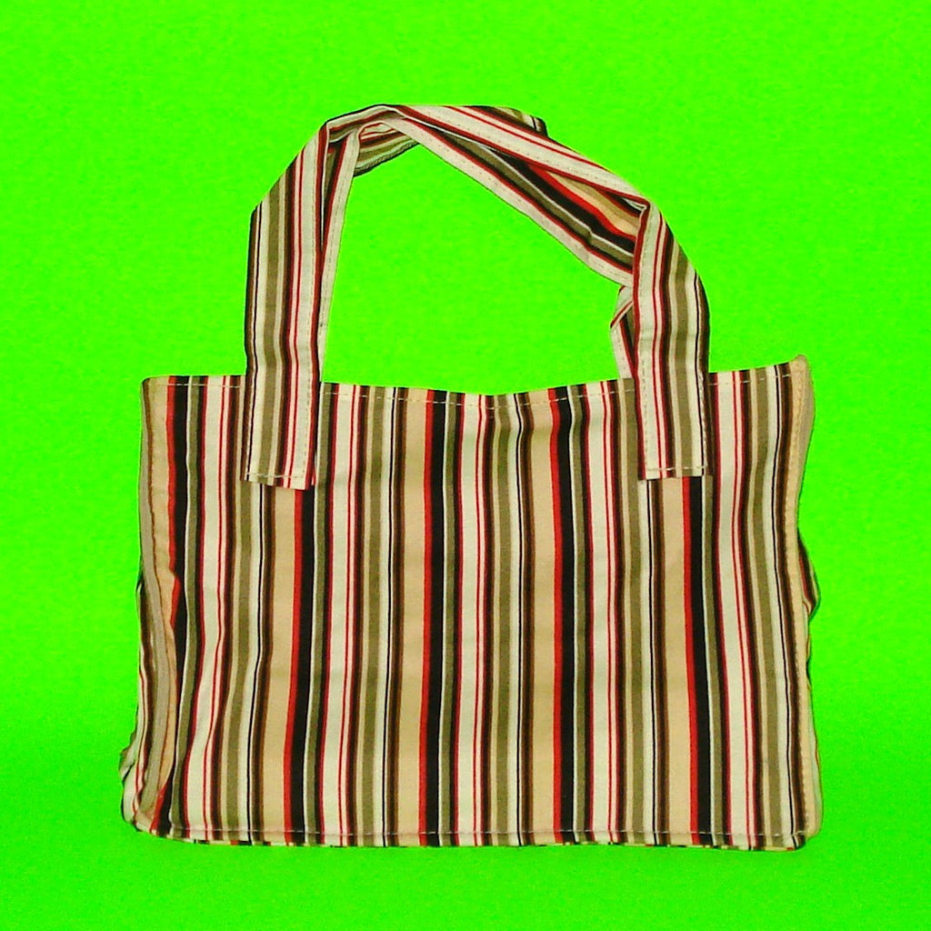 Classic Handbag - Saucy Stripes