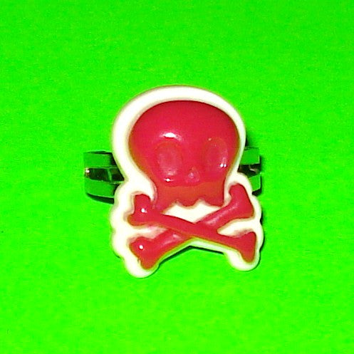 Skull & Crossbones Kyuuto Punk Ring - More Colours!