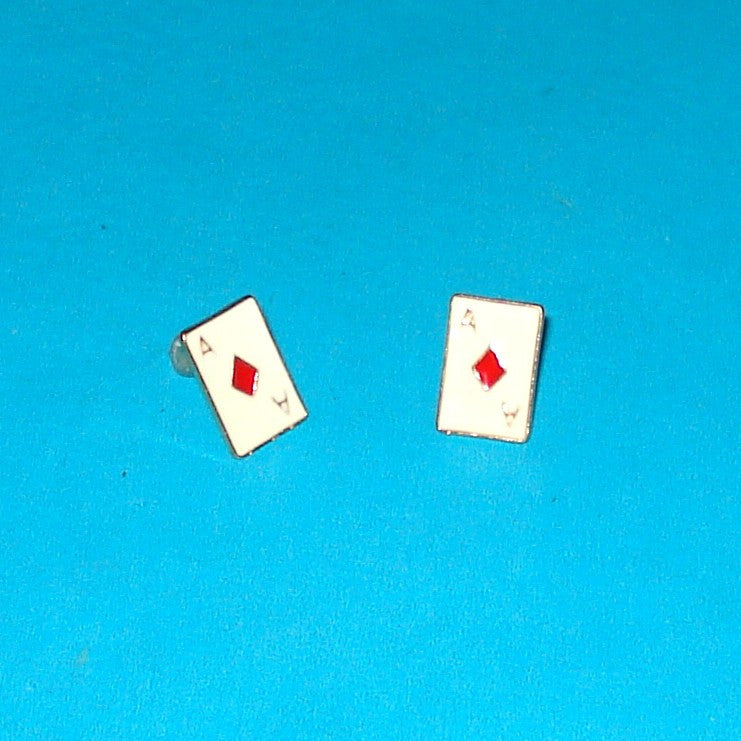 Aces High Earrings