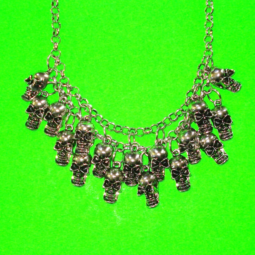 Skulls of the Catacombs Necklace