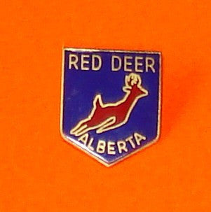 Red Deer Bounding Buck Pin