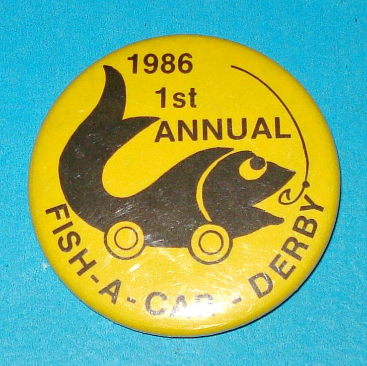 Fish-a-Car Pin