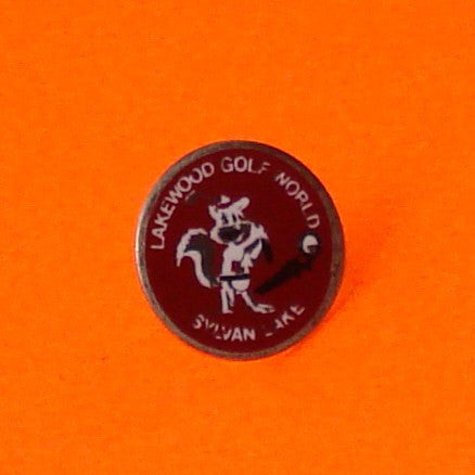 Sylvan Lake Golfing Gopher Pin
