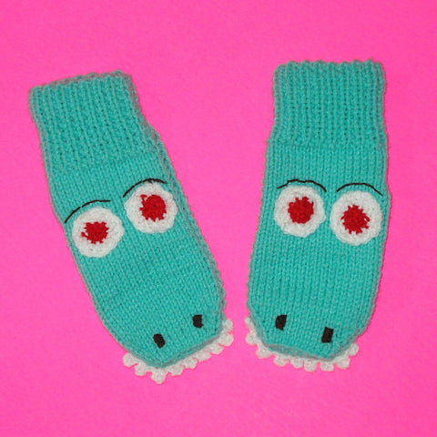 Monster Mittens - Alligator Al