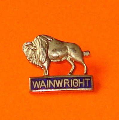 Wainwright Buffalo Pin