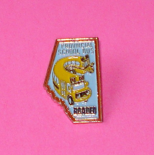 Squiggly School Bus Pin
