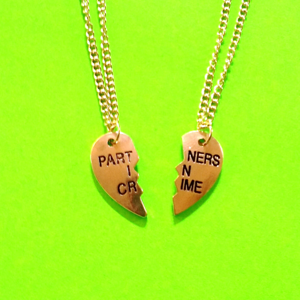 Partners in Crime Two Necklace Set