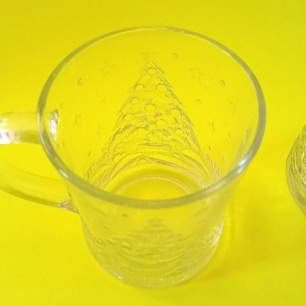 Christmas Tree Mugs - Set of Six