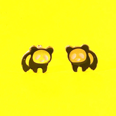Panda Magic Earrings