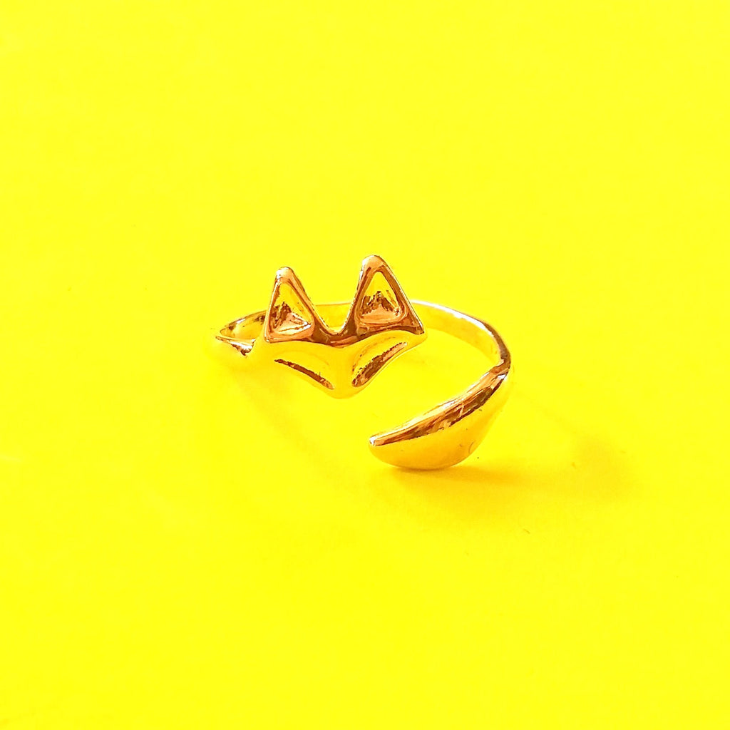 Sly Fox Ring - Silver or Gold!