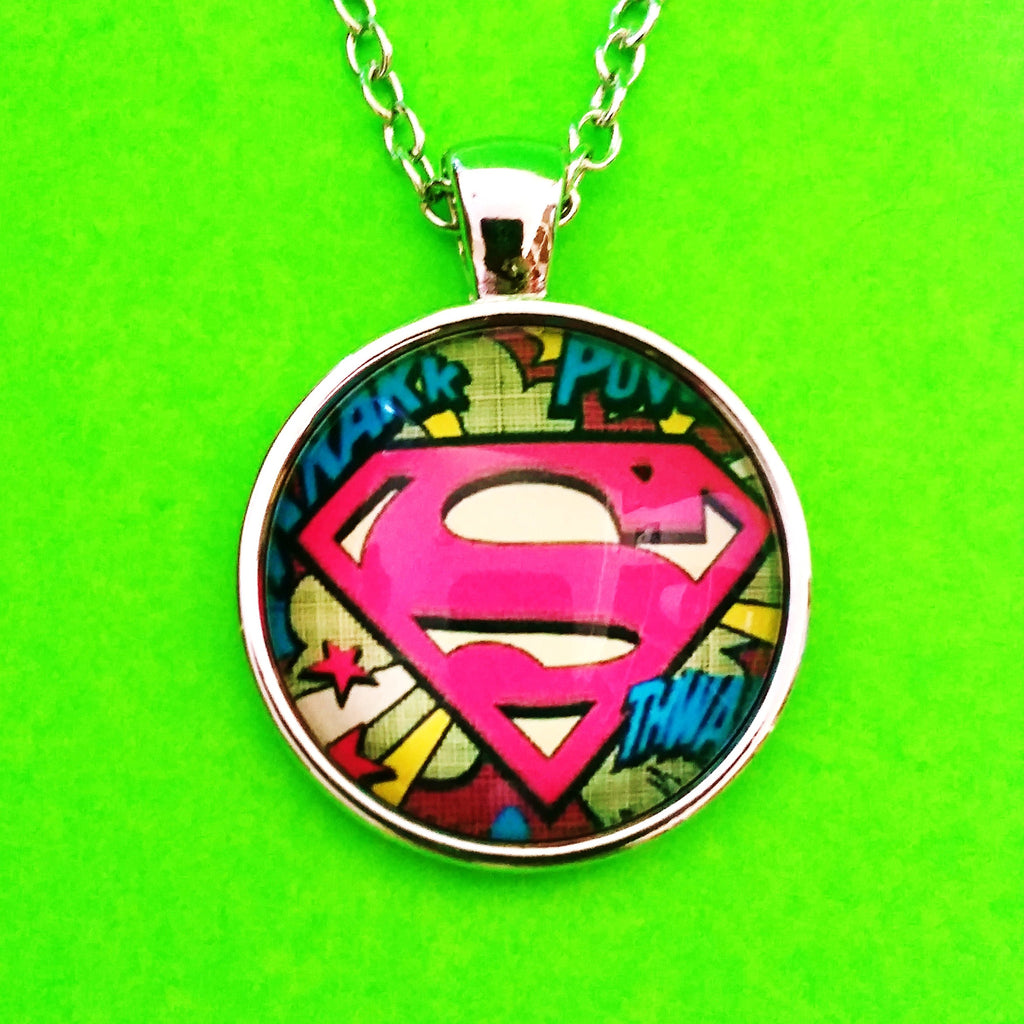 Superman Logo Necklace - More Styles!