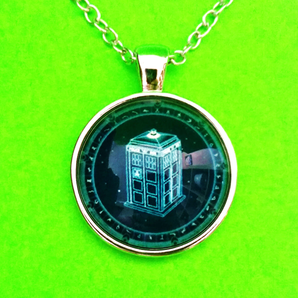 Doctor Who Pendant Necklace - More Styles!