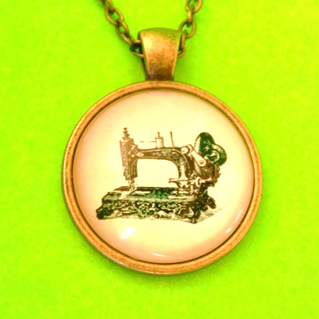 Sewing Machine Necklace - More Styles!