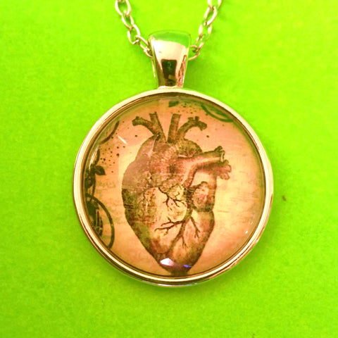 Anatomical Heart Pendant Necklace - More Styles!