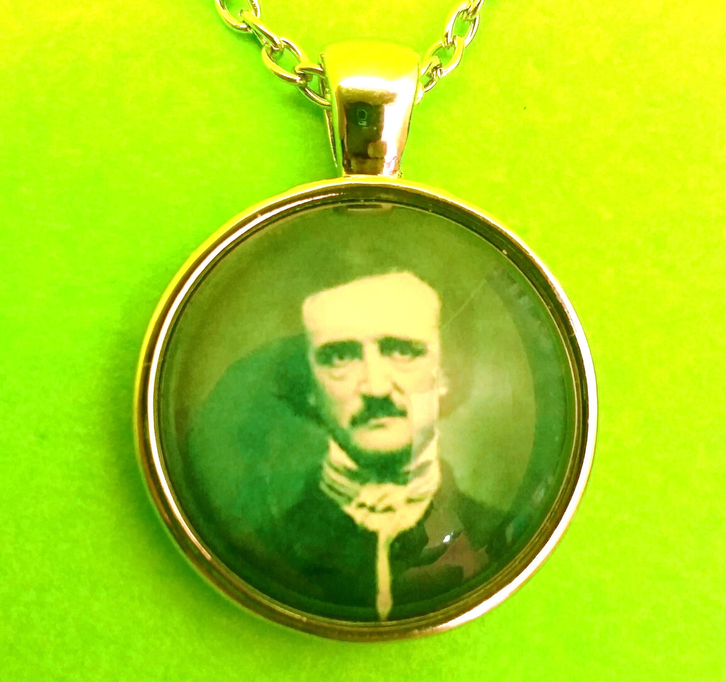 Edgar Allan Poe Portrait Necklace - More Styles!