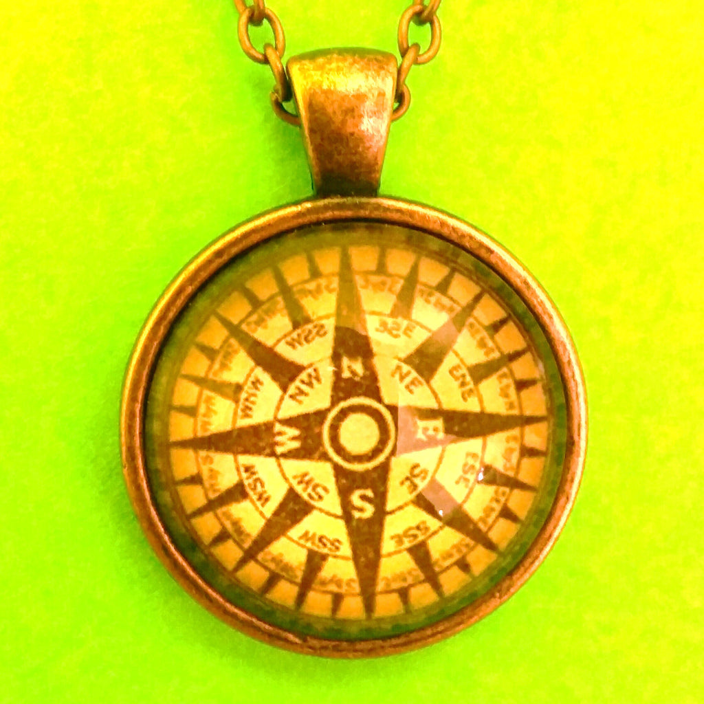 Compass Pendant Necklace - More Styles!
