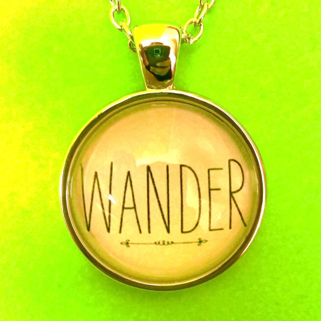 Wanderer Pendant Necklace - More Styles!