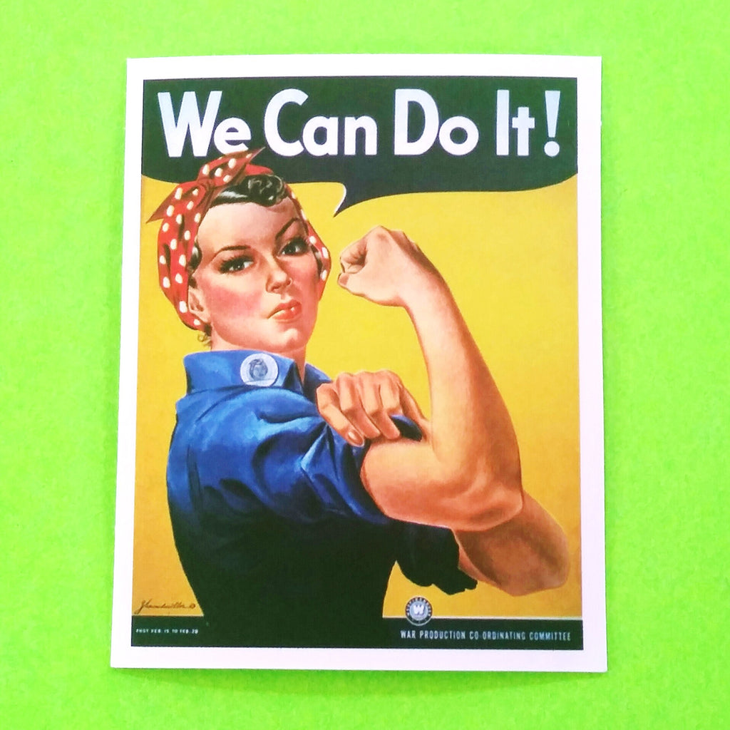 Rosie Riveter Sticker