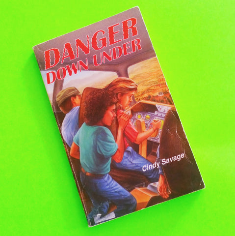 Danger Down Under - Cindy Savage