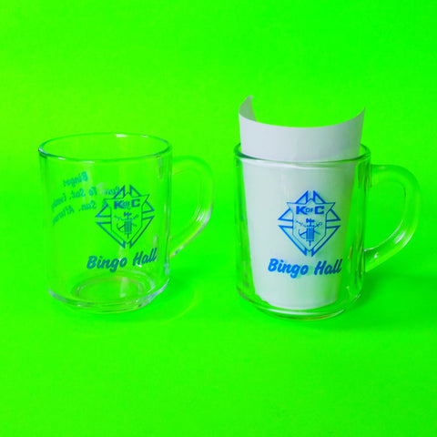 Bingo Hall Coffee Cups