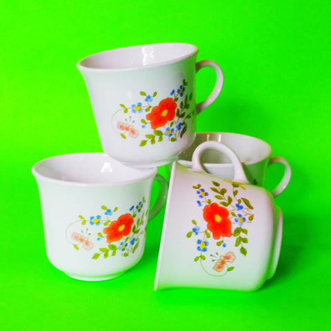 Corelle Spring Bouquet Coffee Cups