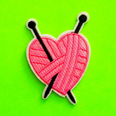 Knitty Love Patch