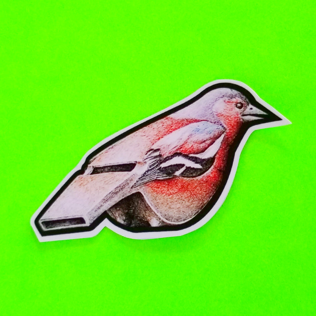 Bird Whistle Sticker
